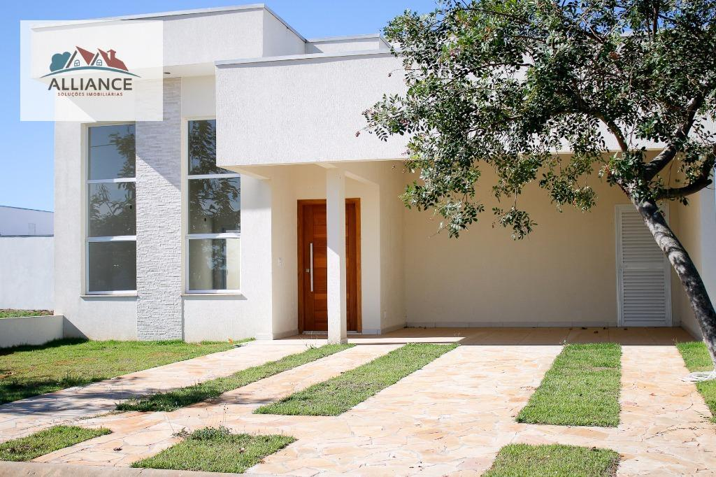 Casa residencial à venda, Condomínio Campos do Conde II, Paulínia.