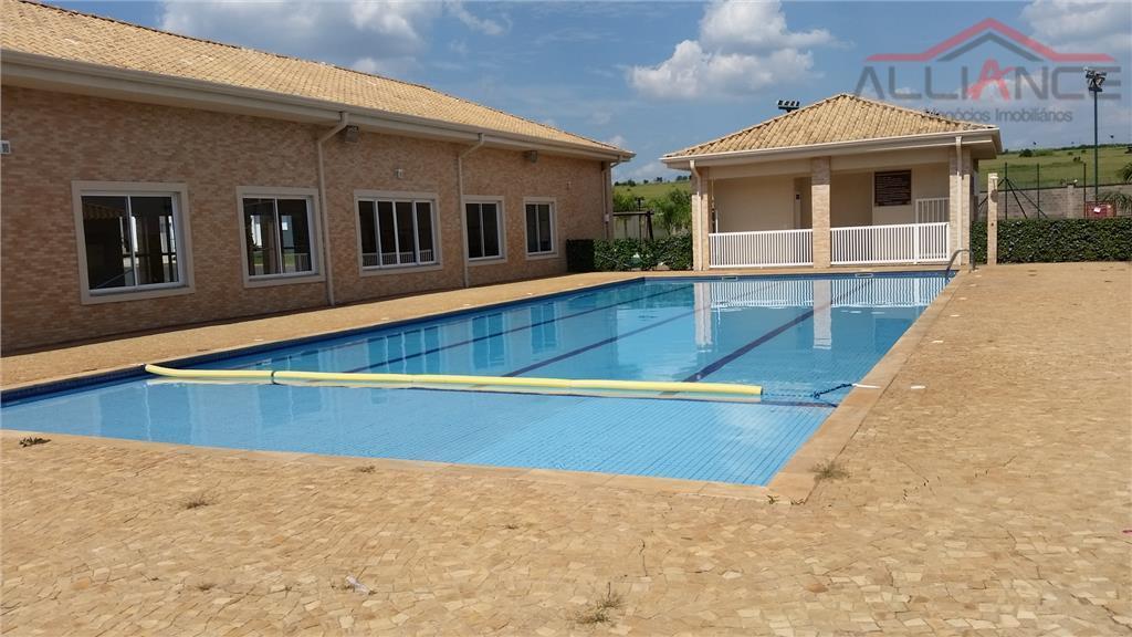 Terreno residencial à venda, Condomínio Yucatan, Paulínia - TE0312.