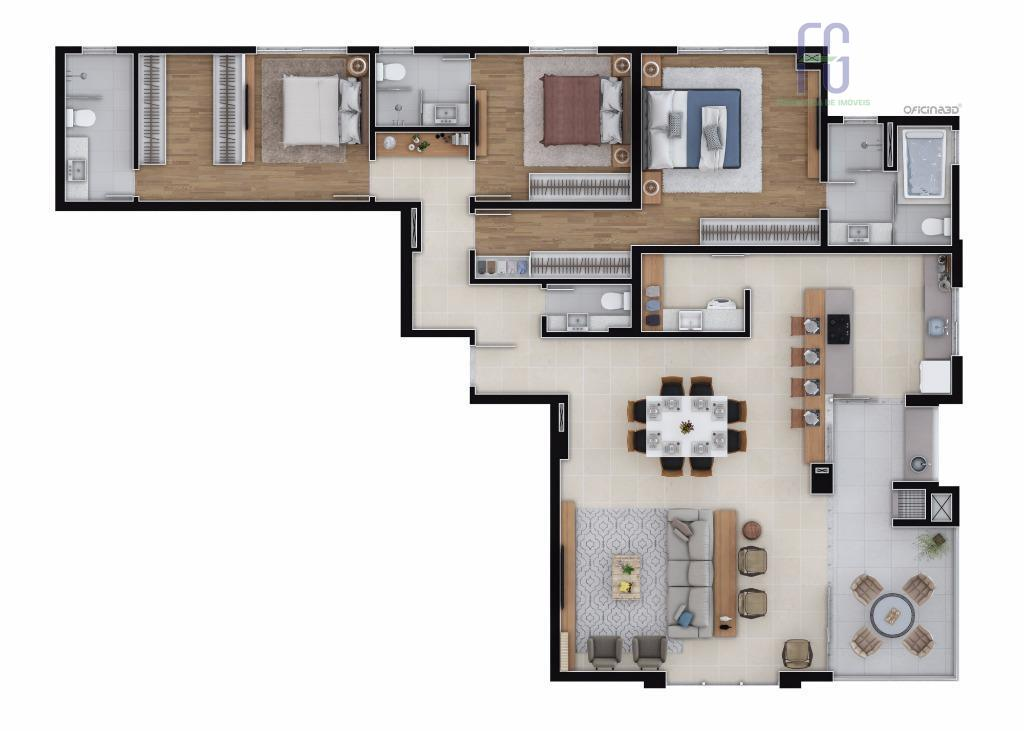 o residencial atlantic tem toda a exclusividade de uma única torre, com o bem-estar e segurança...