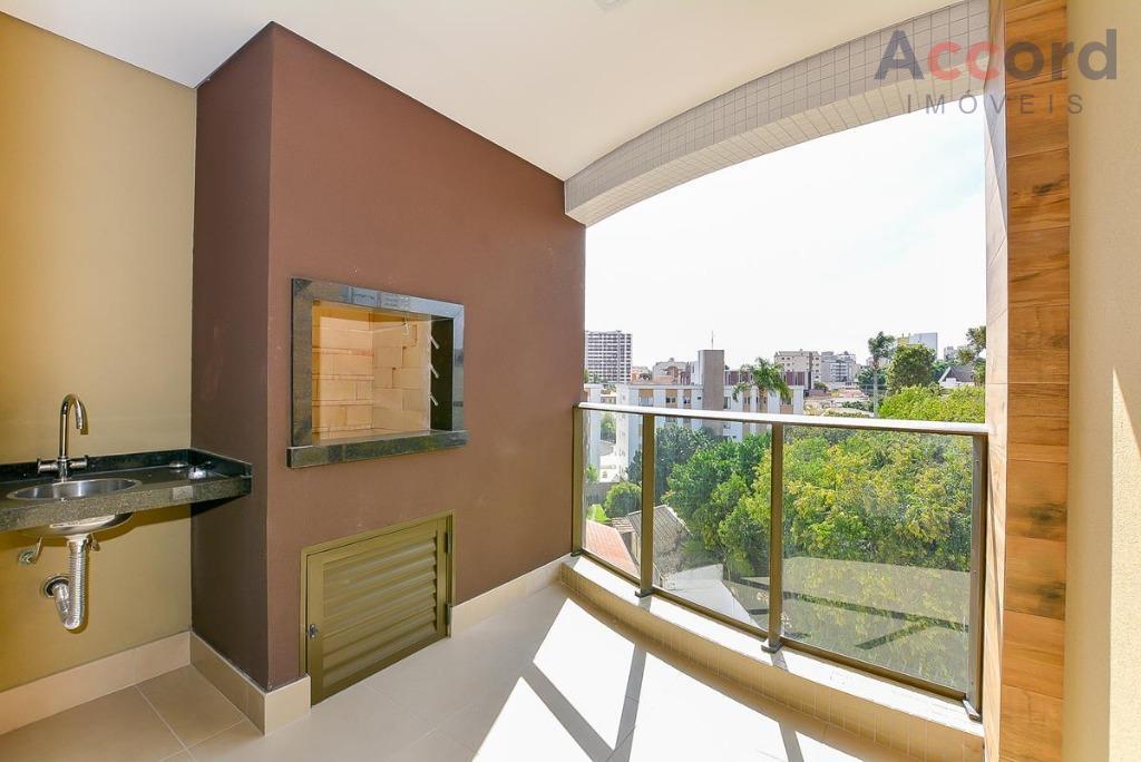 Apartamento no 4º ANDAR, FACE NORTE à venda no Residencial Kimberley, Alto da Glória, Curitiba.