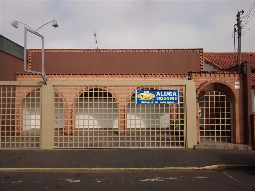 Casa comercial para locação, Centro, Rio Claro.