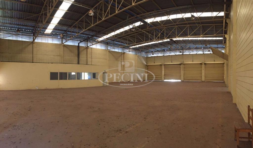 Galpão industrial para venda e locação, Setor Industrial, Rio Claro.