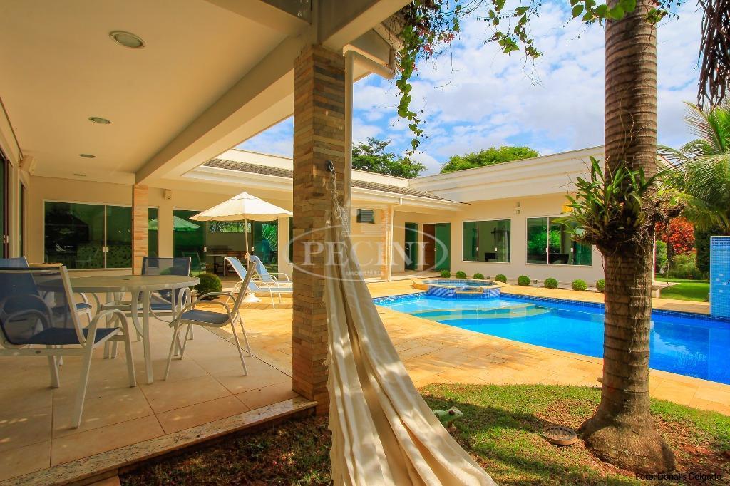 Casa residencial à venda, Condomínio Recreio das Águas Claras, Rio Claro - CA0237.