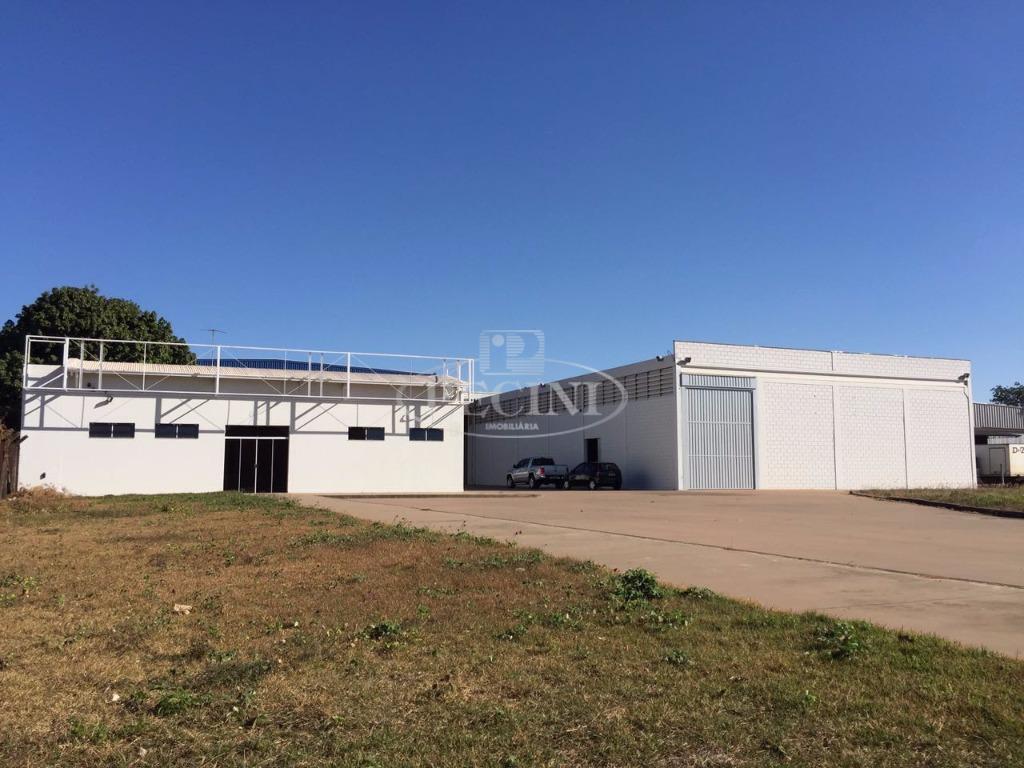 Barracão industrial para locação, Distrito Industrial, Rio Claro.