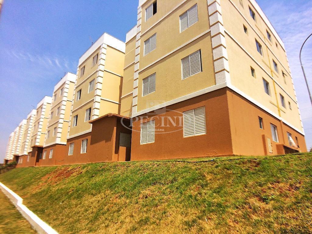 Alugue sem fiador! Apartamento com 2 dormitórios a venda e para alugar, Residencial Monterrey.
