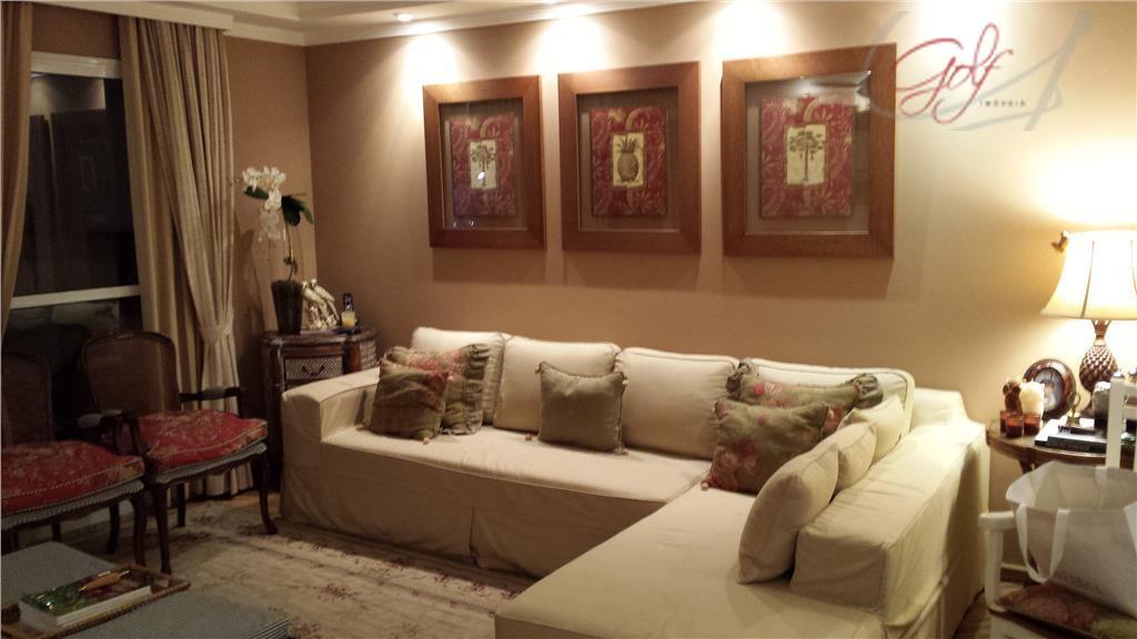 Apartamento residencial à venda, Vila São Francisco, São Paulo - AP0457.