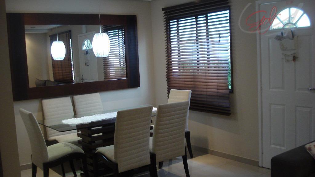 Sobrado residencial à venda, Vila São Francisco, São Paulo - SO0135.
