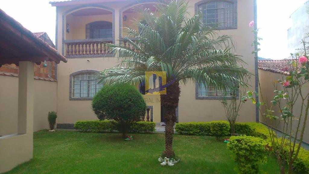 Sobrado residencial à venda, Nossa Senhora de Fátima, Itajubá - SO0030.