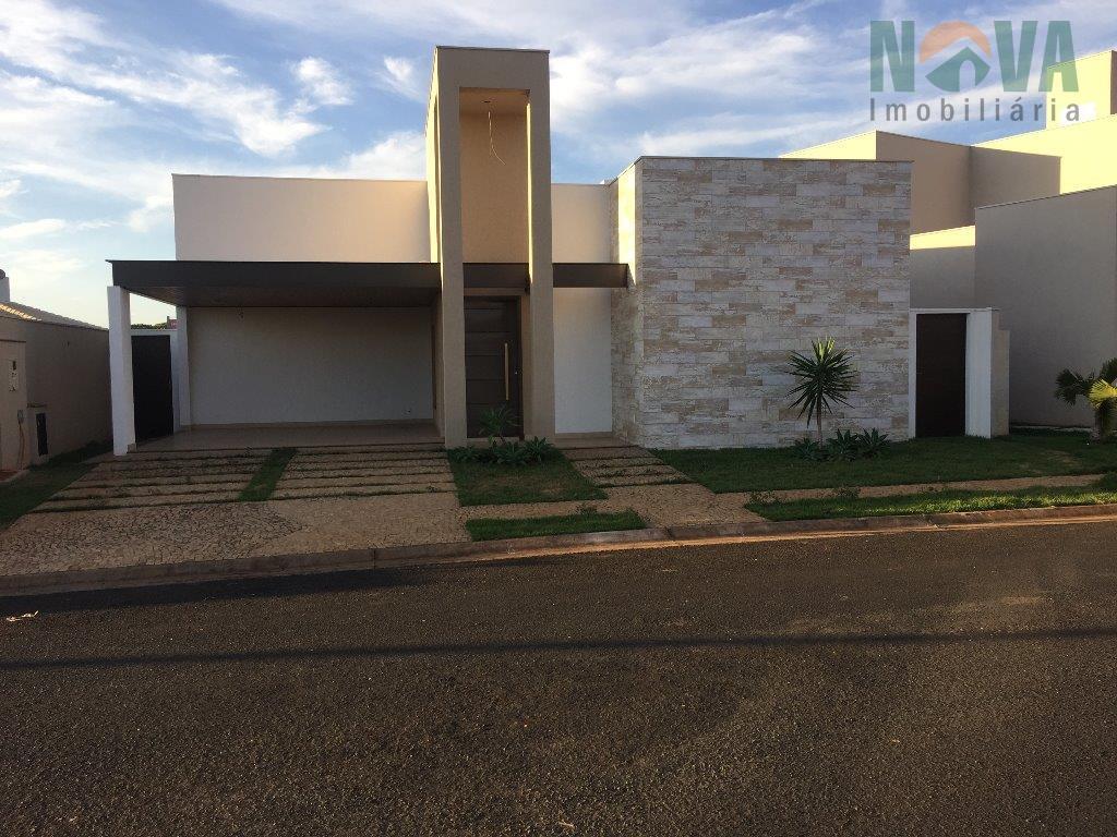 Casa residencial à venda, Flamboyant Residencial Park, Uberaba - CA0161.