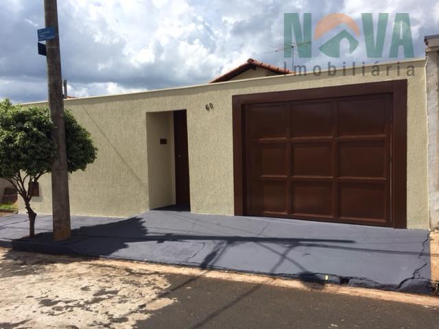 Casa residencial para venda e locação, Residencial Presidente Tancredo Neves, Uberaba - CA0311.