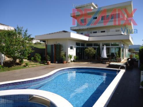 Casa residencial à venda, Condominio Figueira Garden, Atibaia - SO0709.