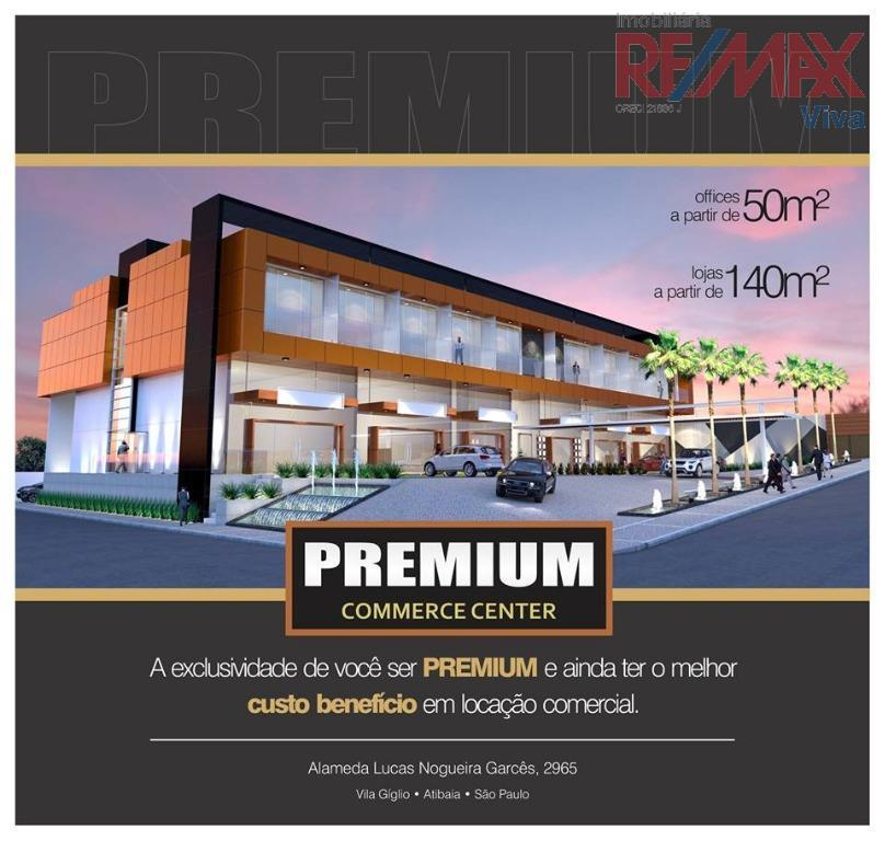 Sala comercial , Vila Giglio, Atibaia - SA0011.