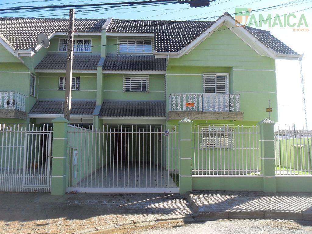 Sobrado residencial à venda, Novo Mundo, Curitiba - SO0156.
