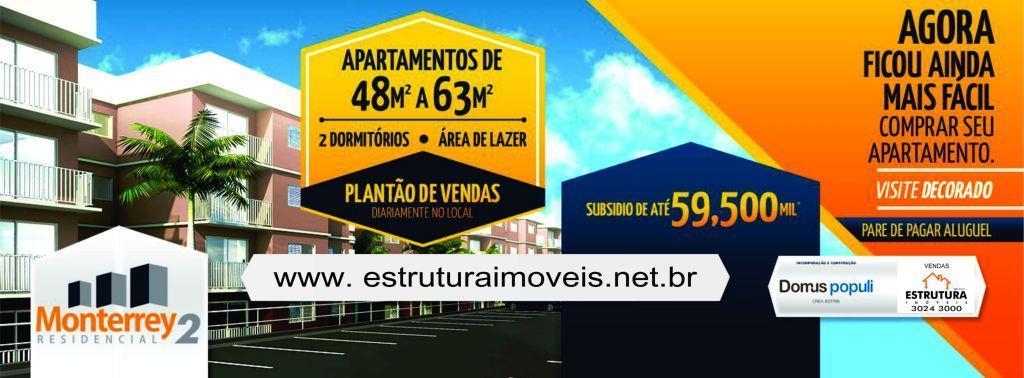 Apartamento  residencial à venda, Jardim Residencial das Palmeiras, Rio Claro.