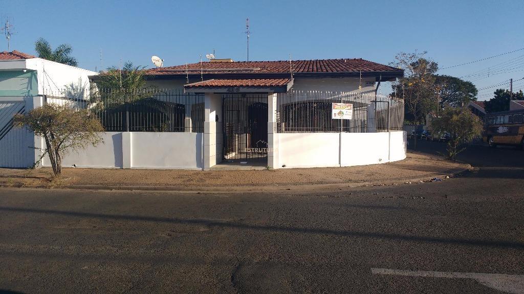 Casa  residencial/ comercial para locação, Jardim América, Rio Claro.