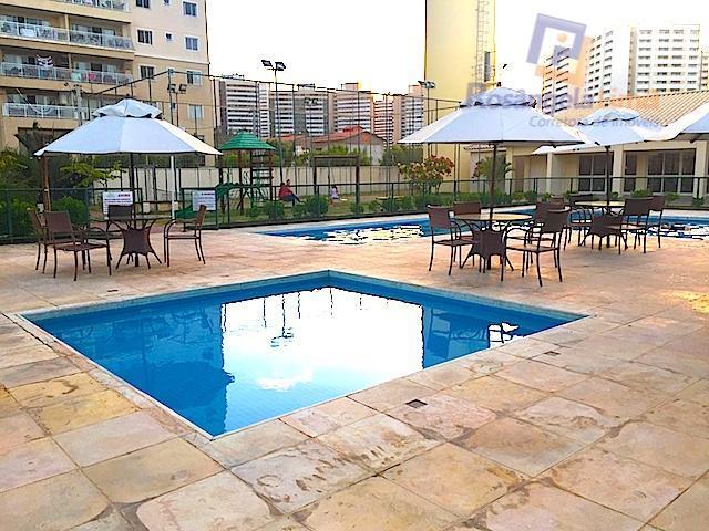 Apartamento residencial à venda, Cambeba, Fortaleza.