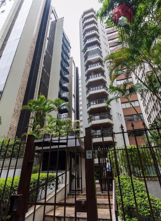 Apartamento residencial para locação, Higienópolis, São Paulo - AP0826.
