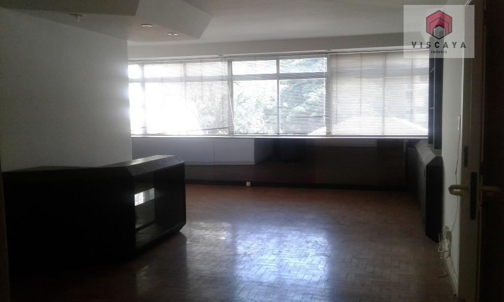 Apartamento residencial à venda, Higienópolis, São Paulo - AP2181.