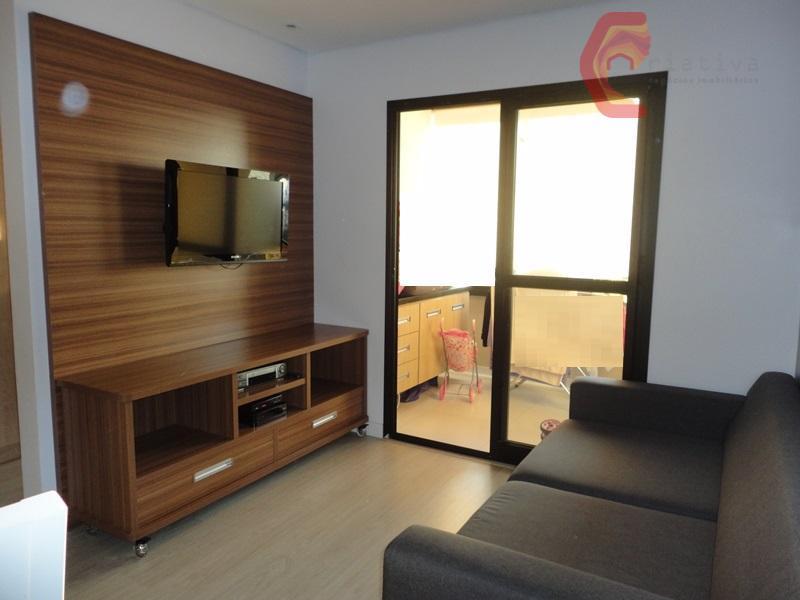 Apartamento com 3 dormitórios à venda, 83 m² por R$ 567.000 - Anália Franco - São Paulo/SP
