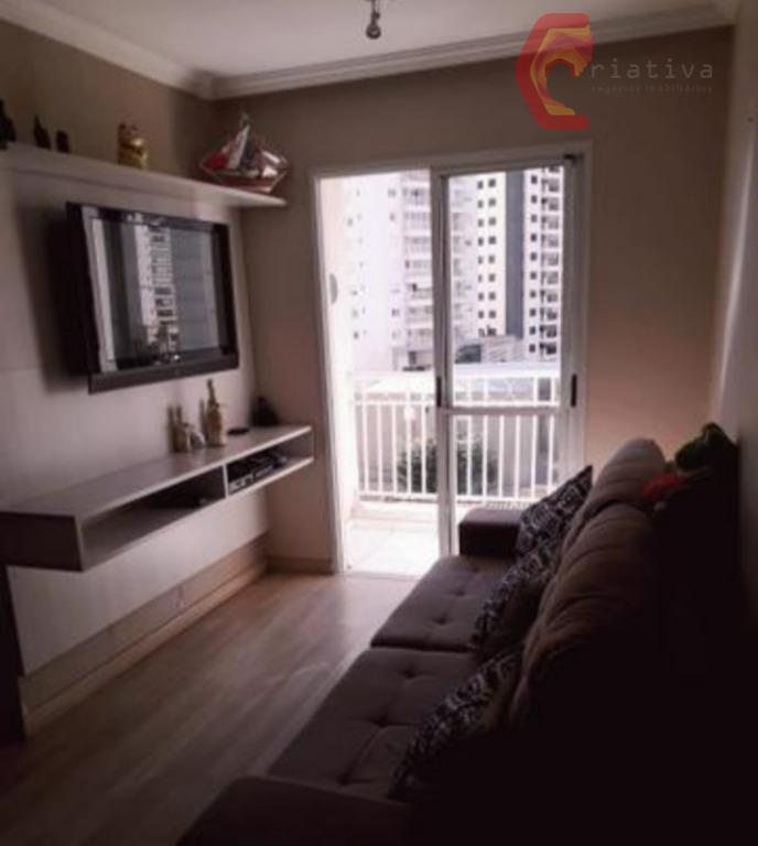 Apartamento com 2 dormitórios à venda, 57 m² por R$ 395.000,00 - Tatuapé - São Paulo/SP