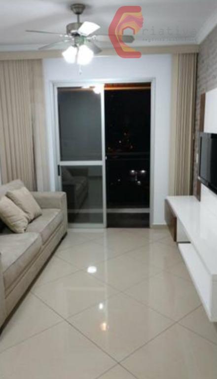 Apartamento com 2 dormitórios à venda, 57 m² por R$ 379.000,00 - Jardim Anália Franco - São Paulo/SP