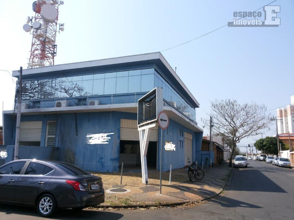 Prédio comercial para locação, Jardim Chapadão, Campinas.
