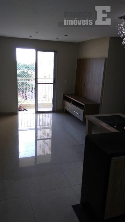 Apartamento com 3 dormitórios para alugar por R$ 1.400/mês - Bonfim - Campinas/SP