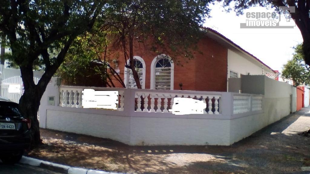Casa com 3 dormitórios para alugar por R$ 2.500/mês - Vila Rossi Borghi e Siqueira - Campinas/SP