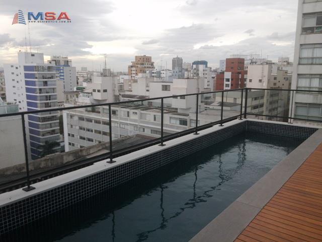 Cobertura de 3 dormitórios em Higienópolis, São Paulo - SP