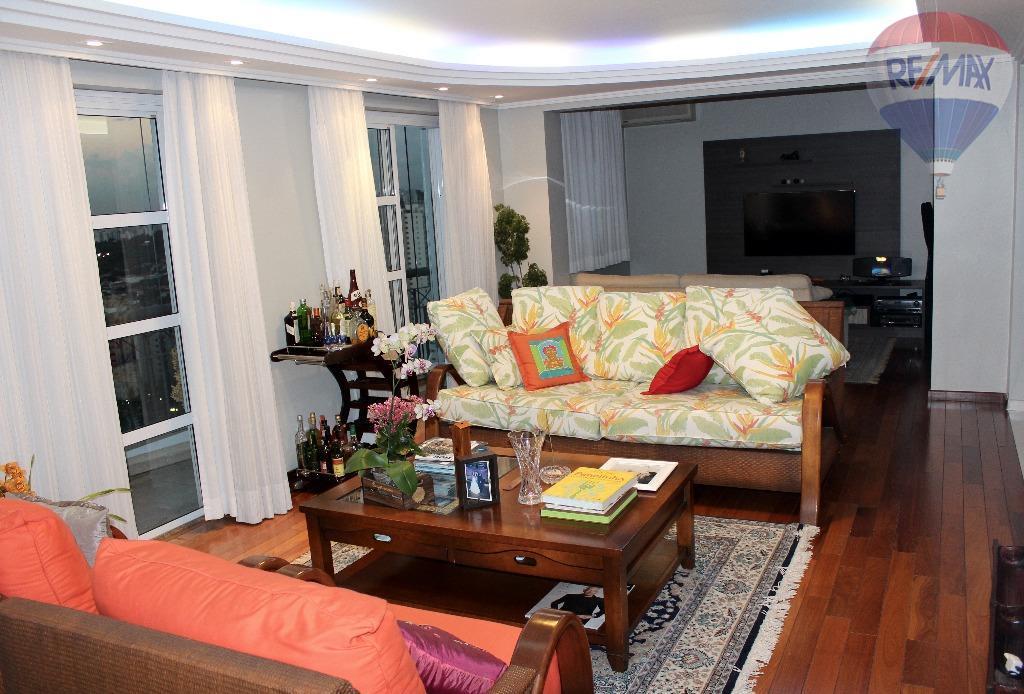 Excelente Apartamento mobiliado, 171m, 3 Suites, 3 VAgas, R. Carlos Weber, Vila Leopoldina