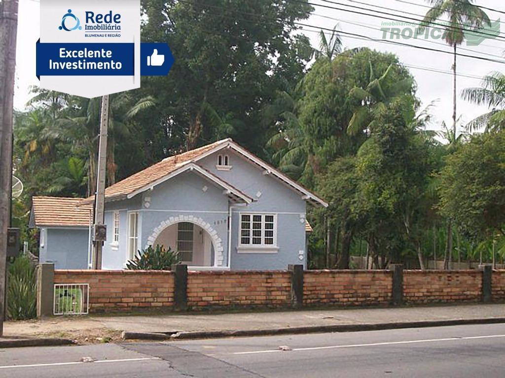 Casa comercial para venda e locação, Vila Formosa, Blumenau - CA1235.