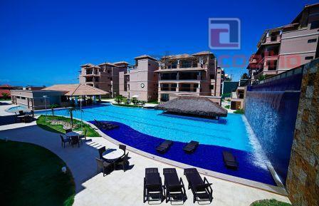 Apartamento Duplex residencial à venda, Porto das Dunas, Aquiraz.