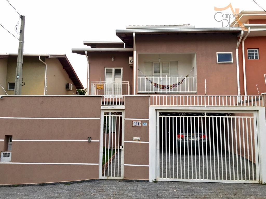 Casa  residencial à venda, Residencial Terras do Barão, Campinas.