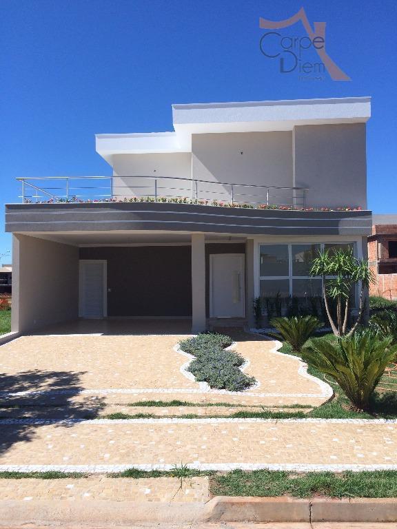 Sobrado residencial à venda, Condomínio Reserva Real, Paulínia - SO0025.