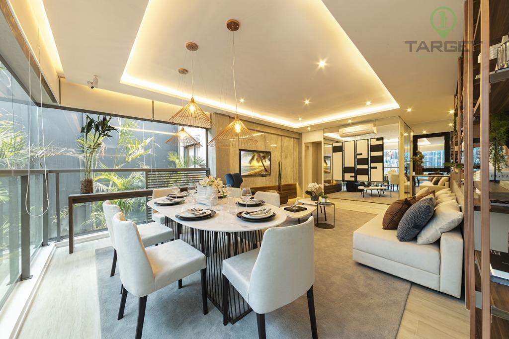 Apartamento com 2 suítes com 2 vagas  à venda, 85 m² por R$ 970.000 - Vila Mariana - São Paulo/SP