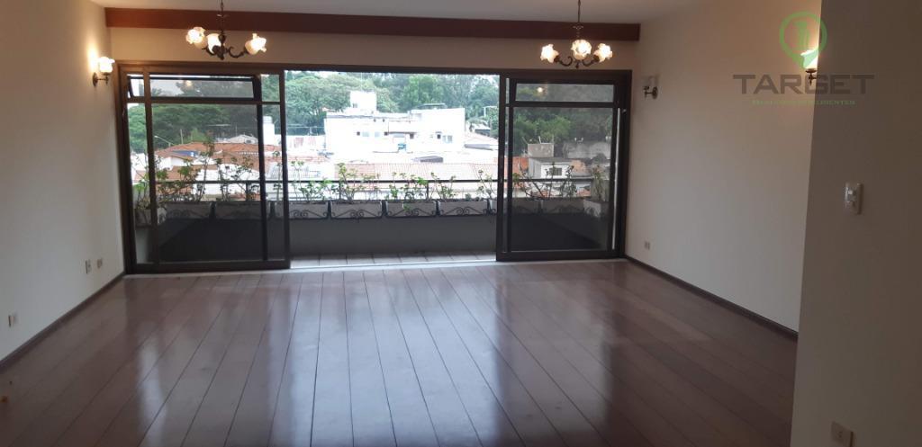 Apartamento com 3 dormitórios para alugar, 163 m² por R$ 2.450/mês