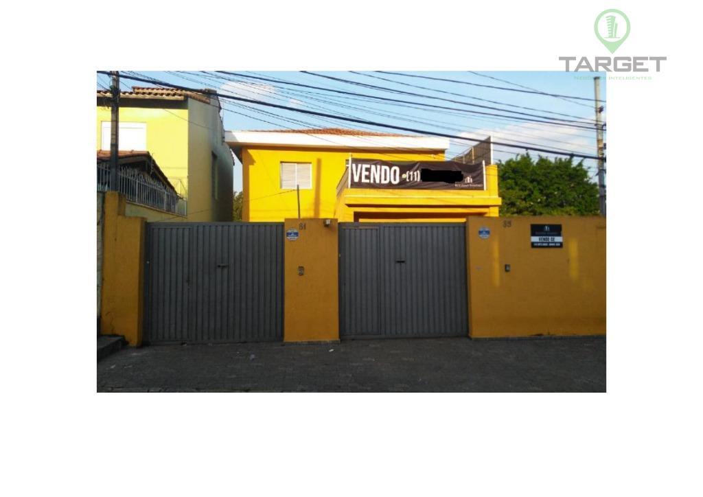 Sobrado à venda ou locação, 500 m² por R$ 1.399.000 ou R$ 6.500 pacote - Vila Monte Alegre - São Paulo/SP