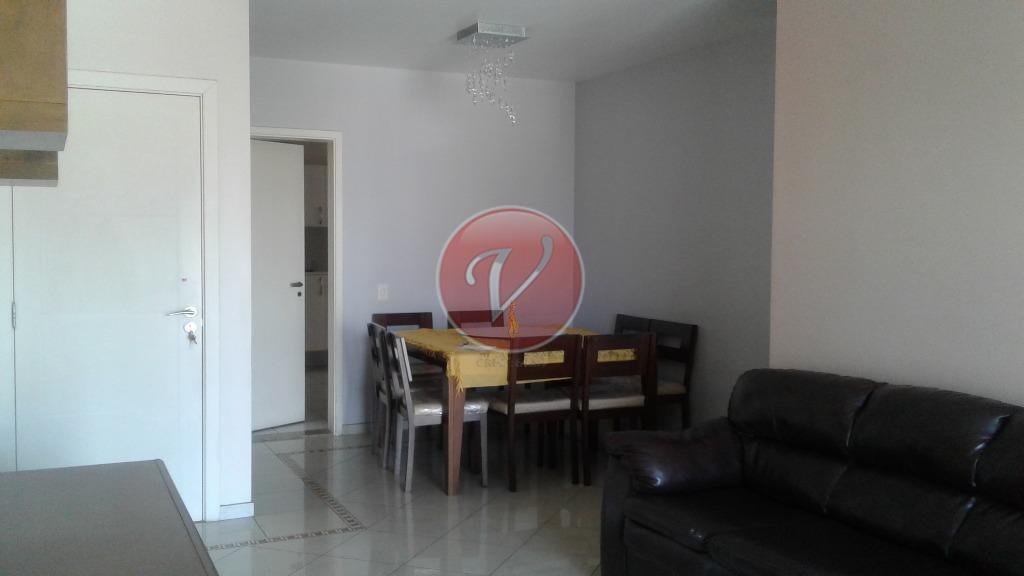 Apartamento residencial para locação, Campestre, Santo André - AP7005.