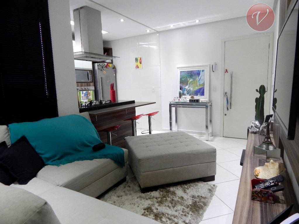Apartamento sem condomínio residencial à venda, Vila Alzira, Santo André.