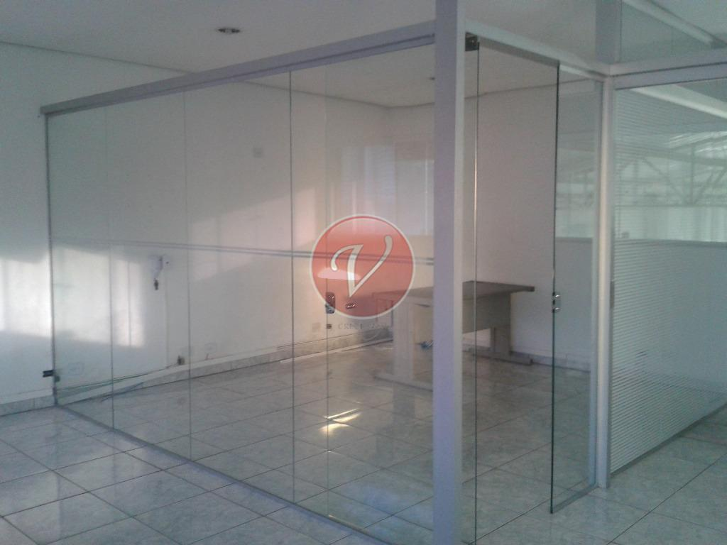 excelente salão comercial vila américa com porta de aço automática, pé direito de 6m, piso industrial,...