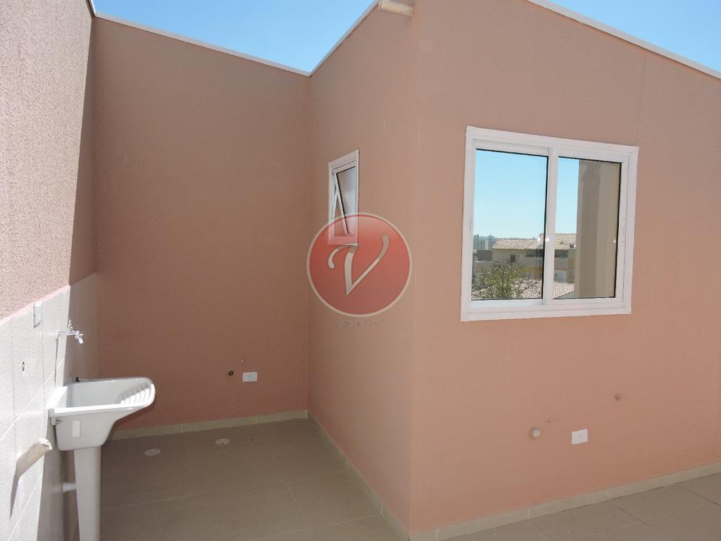 apartamento novo com 02 dormitórios, sala, cozinha, wc, lavanderia, 01 vaga de garagem, cobertura de mais...