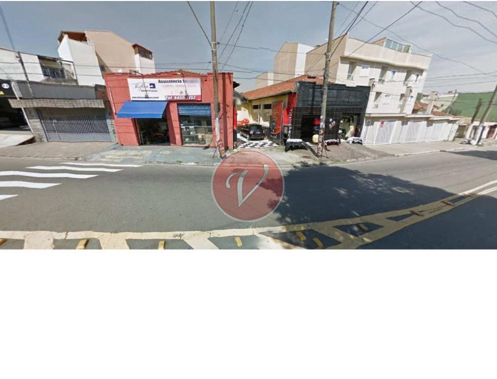 Galpão comercial para venda e locação, Vila Helena, Santo André - GA0092.