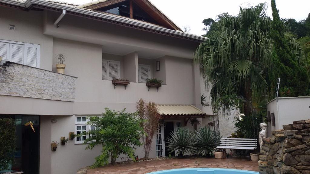 Sobrado residencial para locação, Jardim Panorama, Ribeirão Pires - SO0458.