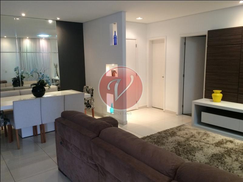 Apartamento residencial para locação, Santa Paula, São Caetano do Sul - AP8209.