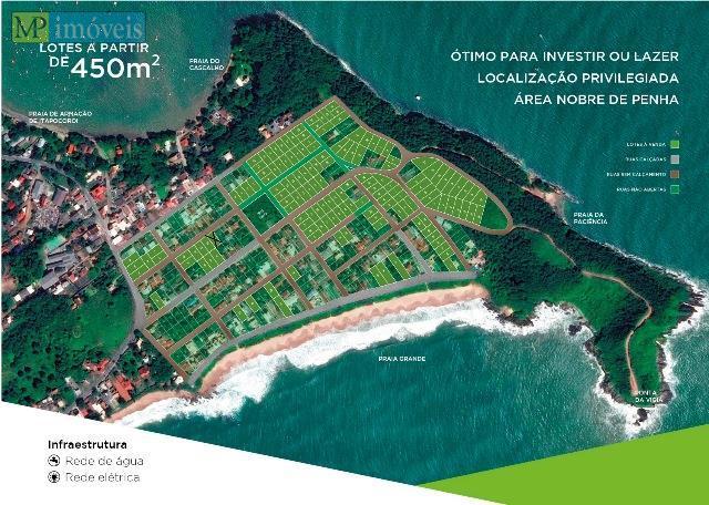 Terreno  residencial à venda, Praia Grande, Penha.