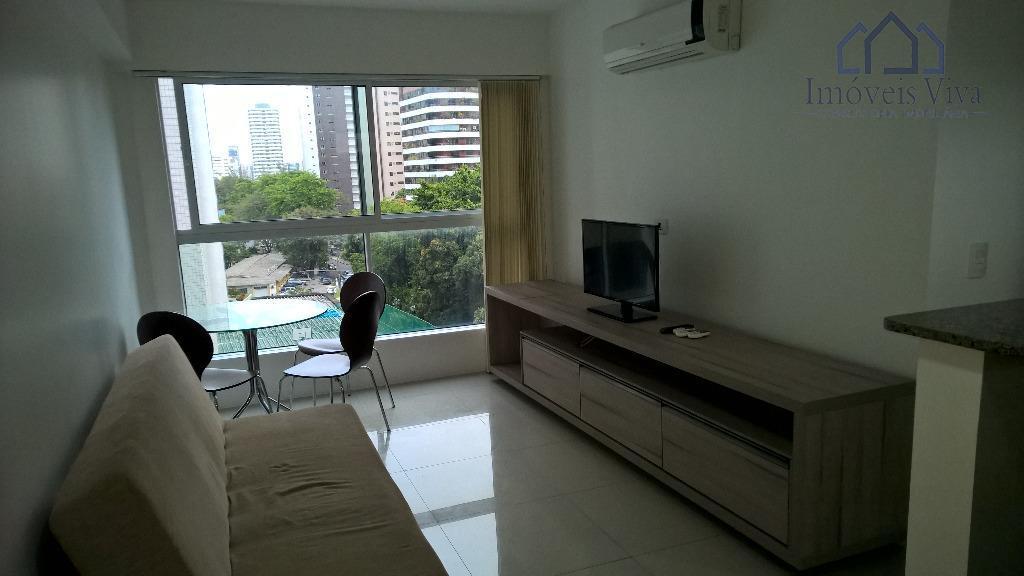 Apartamento residencial 2 quartos com suite, à venda, Jaqueira, Recife.