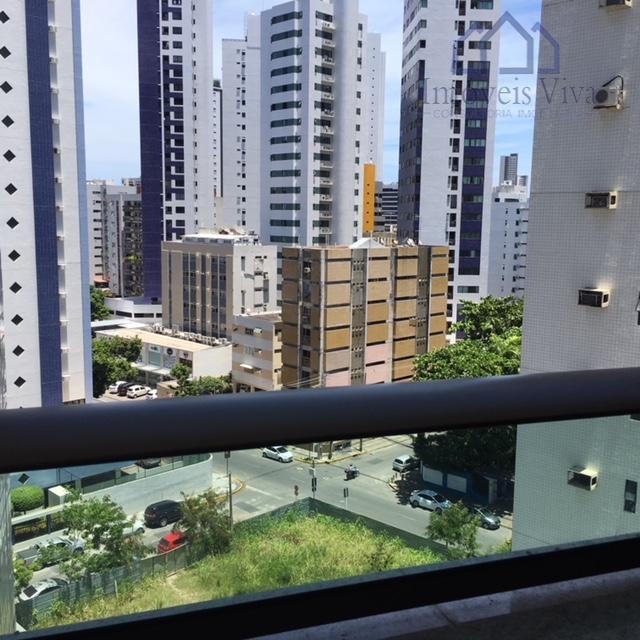 Apartamento 2 quartos com suite, para locação, Boa Viagem, Recife PE.
