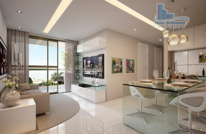 Apartamento residencial à venda, Tamarineira, Recife.
