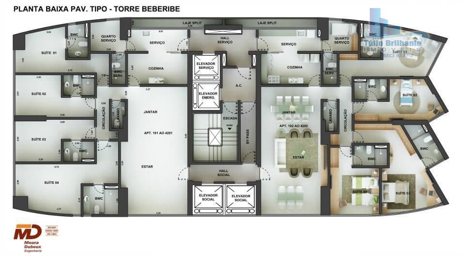 Apartamento  residencial à venda, Santo Amaro, Recife.