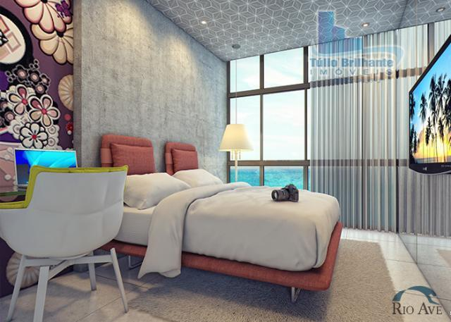 Flat residencial à venda, Barra de Jangada, Jaboatão dos Guararapes.